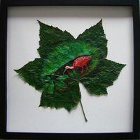 Leaf paintings 1