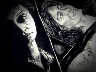 Revelation of my thoughts /Charcoal,P Mencil Abhrodeep