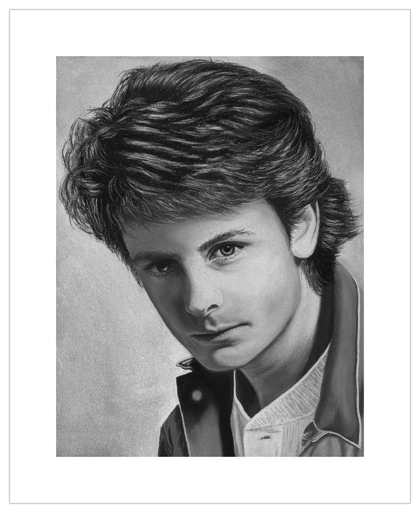 Michael J Fox by Tracie Koziura