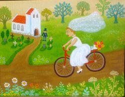 Artist Inge Selmer