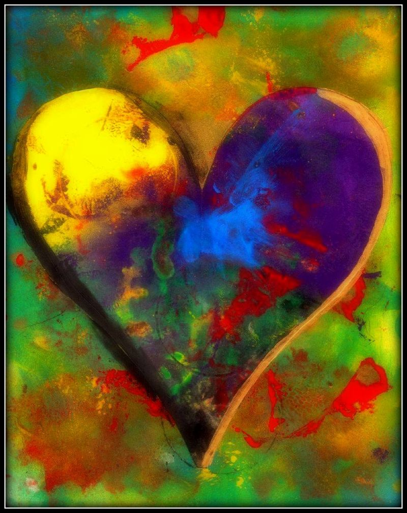 ONE LOVE BY WBK 40X30